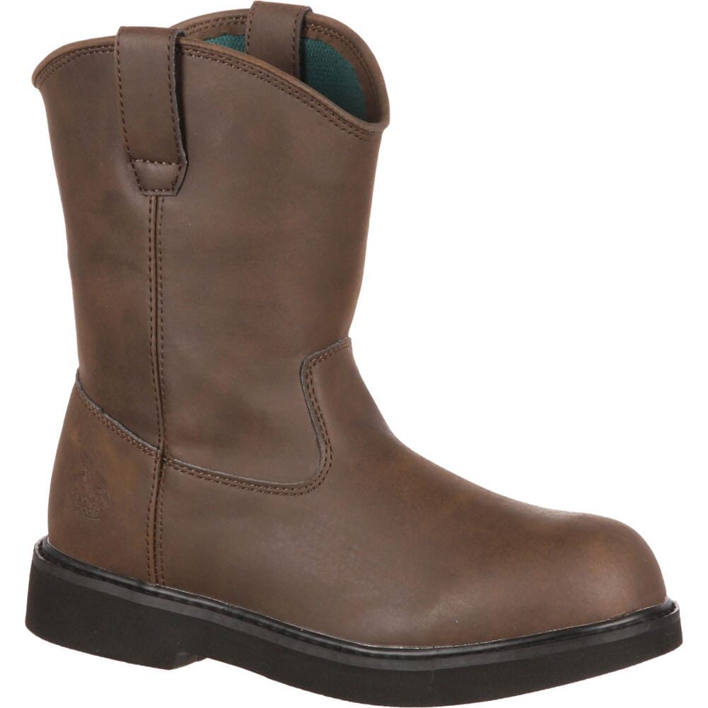 Image for Georgia Kid's Pull-On Boots - Brown from bootbay