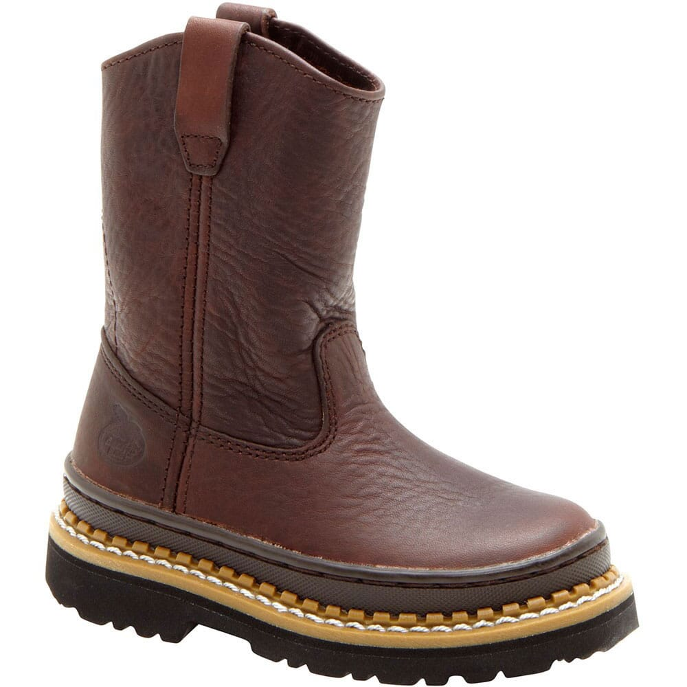 Image for Georgia Kid's Little Georgia Giant Boots - Brown from bootbay