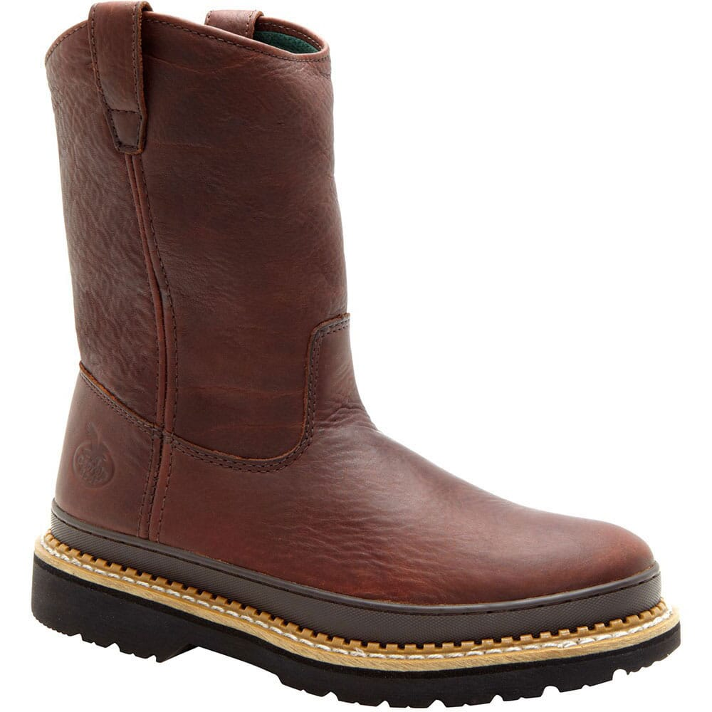 Image for Georgia Men's 11IN Soggy Safety Boots - Brown from bootbay