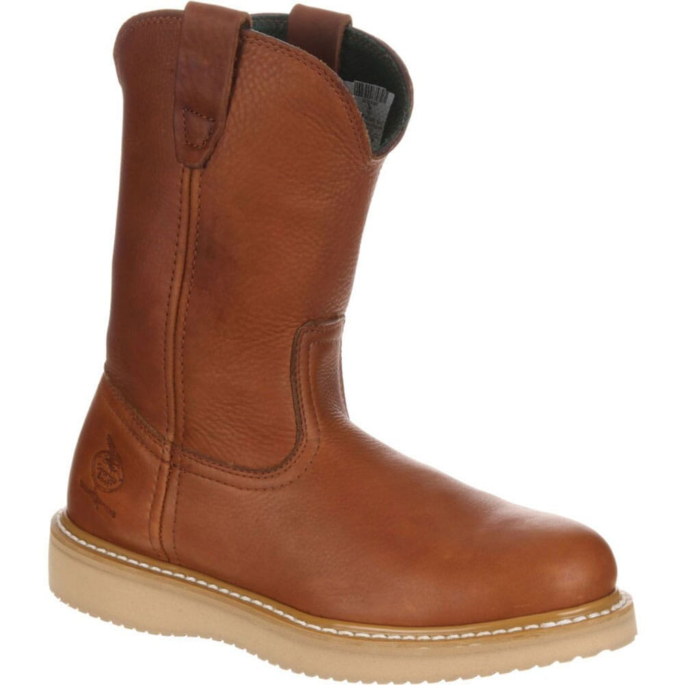 Image for Georgia Men's Barracuda PullOn SPR Safety Boots - Gold Coast from bootbay
