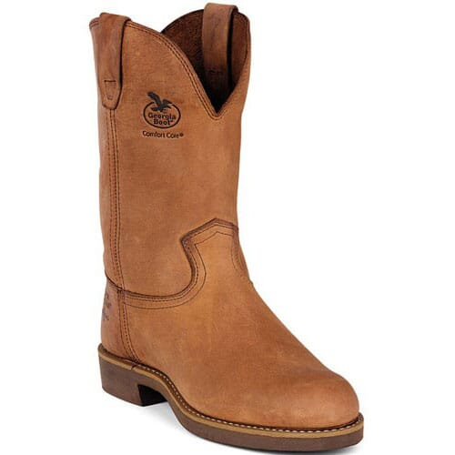 Image for Georgia Men's Carbo-Tech WP Work Boots - Chestnut from bootbay