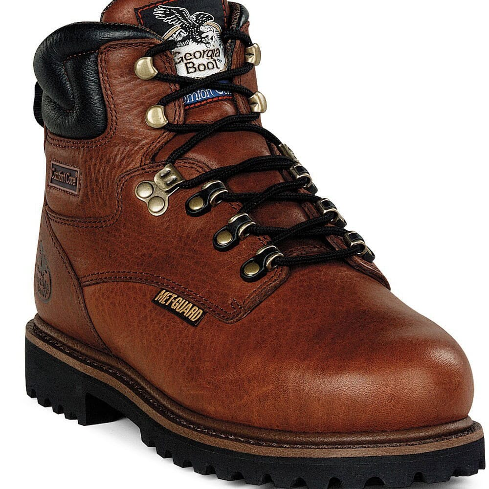 Image for Georgia Men's Comfort Core Safety Boots - Brown from bootbay