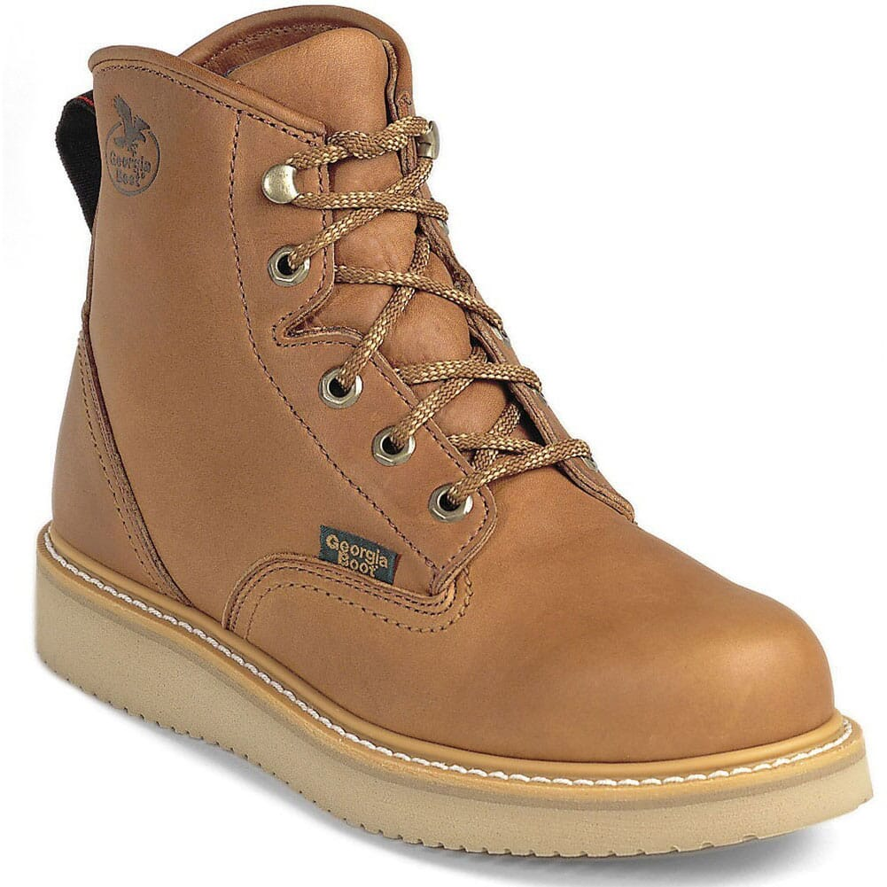 Image for Georgia Men's Barracuda SPR Safety Boots - Gold Coast from bootbay