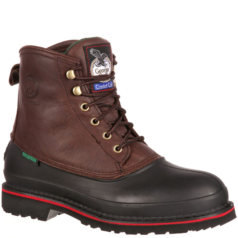Image for Georgia Men's Mud Dog Safety Boots - Chocolate from bootbay