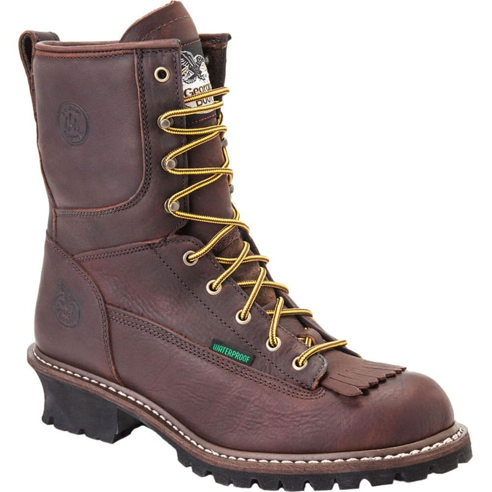 Image for Georgia Men's Waterproof Safety Loggers - Brown from bootbay