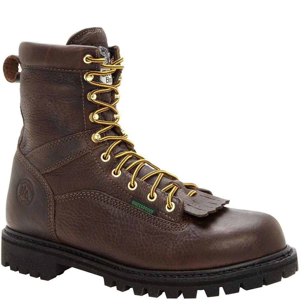 Image for Georgia Men's Heritage Safety Boots - Chocolate from bootbay