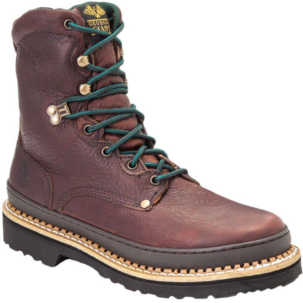 Image for Georgia Giant Men's Steel Toe Safety Boots - Brown from bootbay
