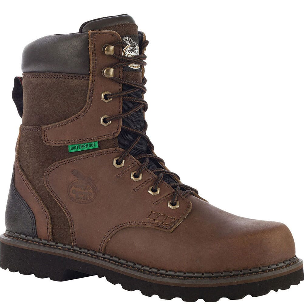 Image for Georgia Men's Brookville Safety Boots - Brown from bootbay