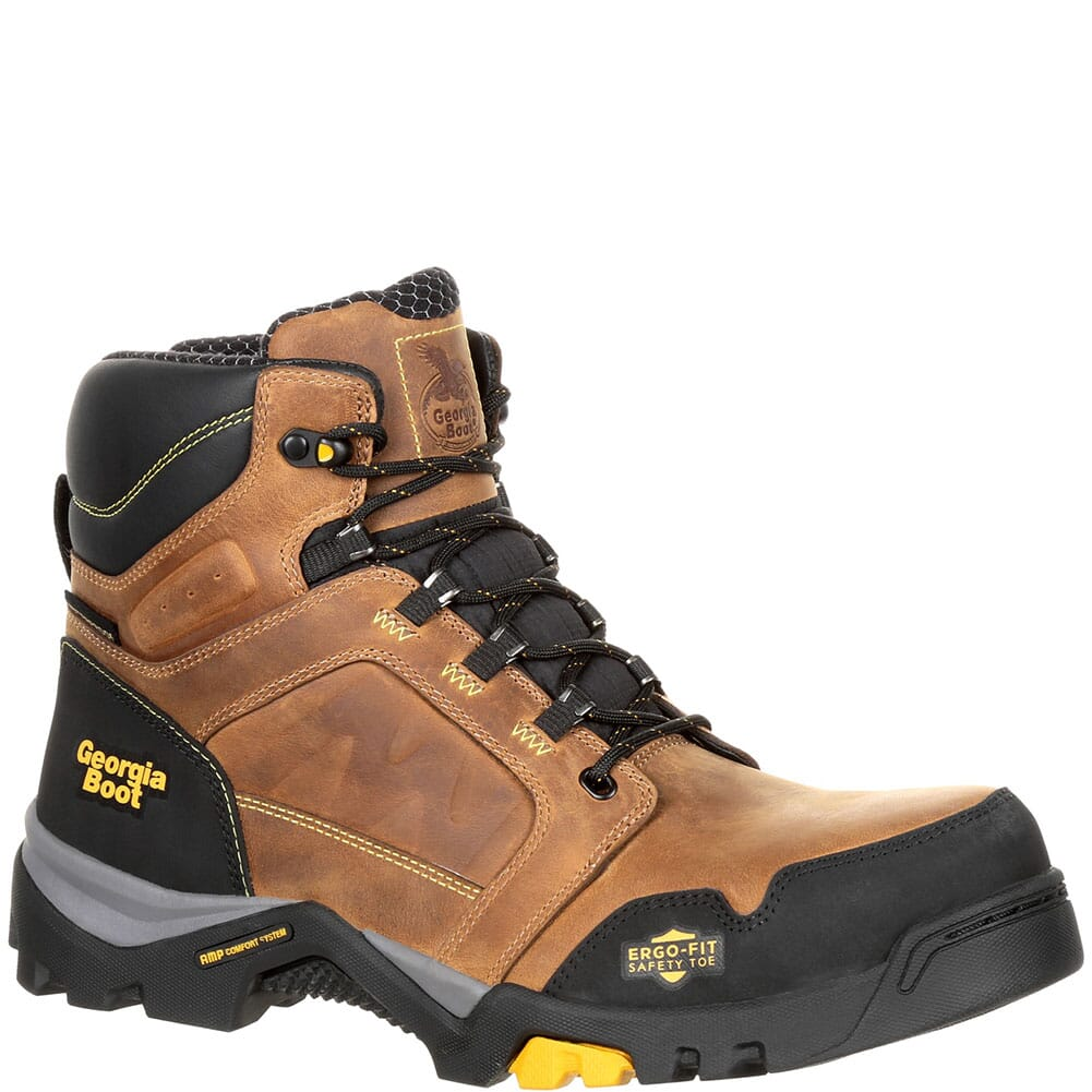 Image for Georgia Men's Amplitude WP Safety Boots - Trail Crazy Horse from bootbay