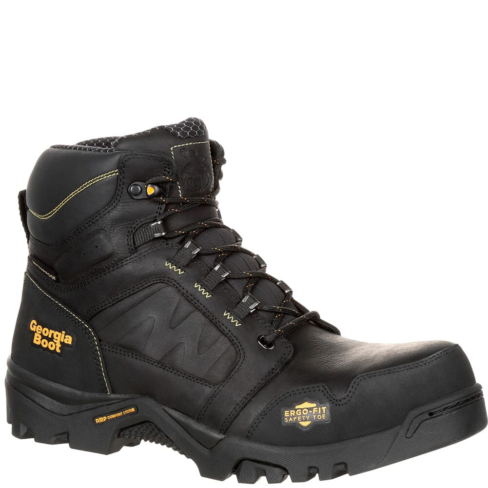 Image for Georgia Men's Amplitude WP Safety Boots - Black from bootbay