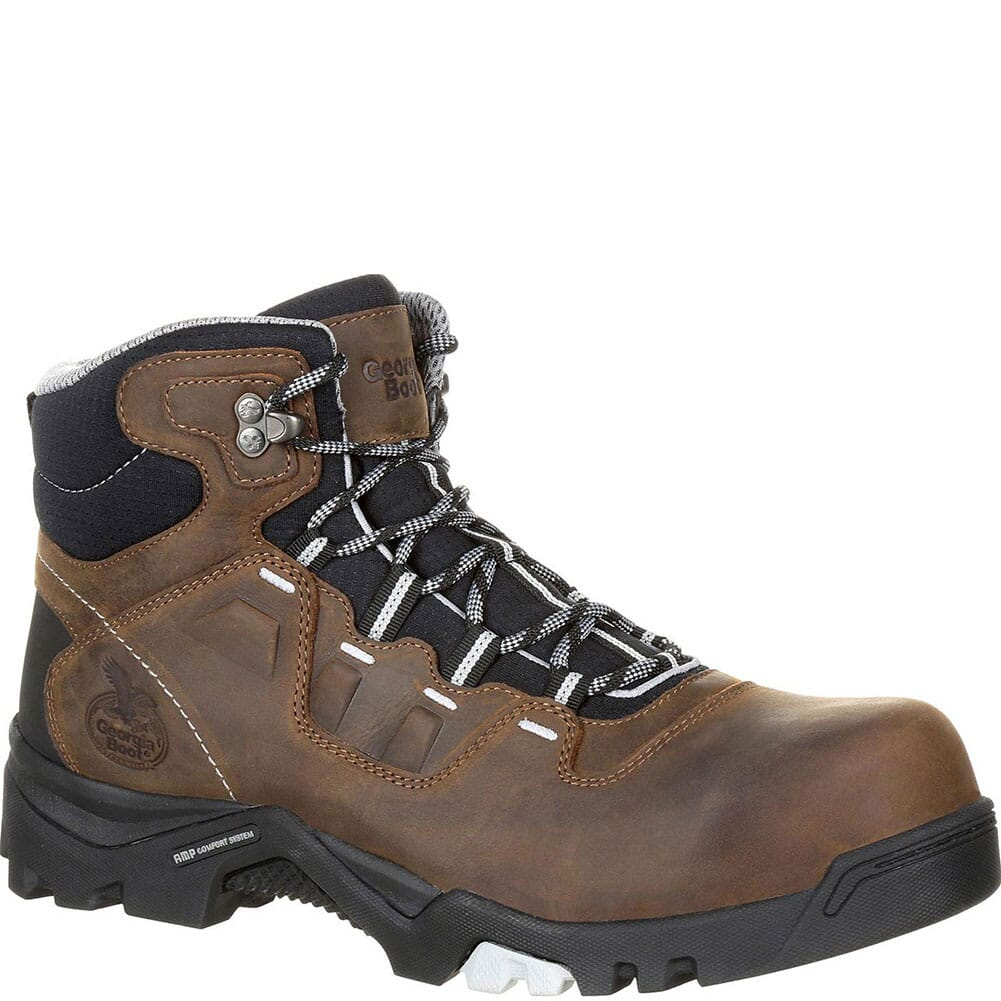 Image for Georgia Men's Amplitude WP Safety Boots - Brown from bootbay