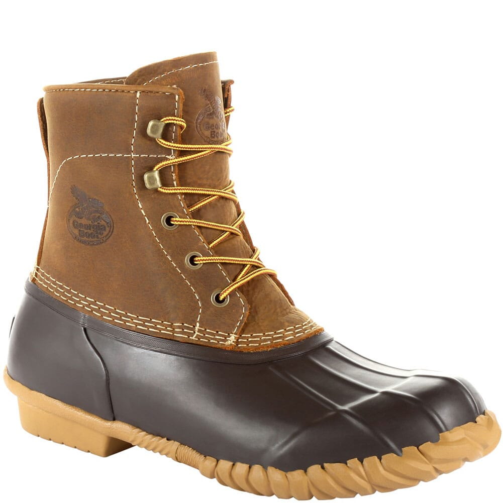 Image for Georgia Men's Marshland WP Duck Boots - Brown from bootbay