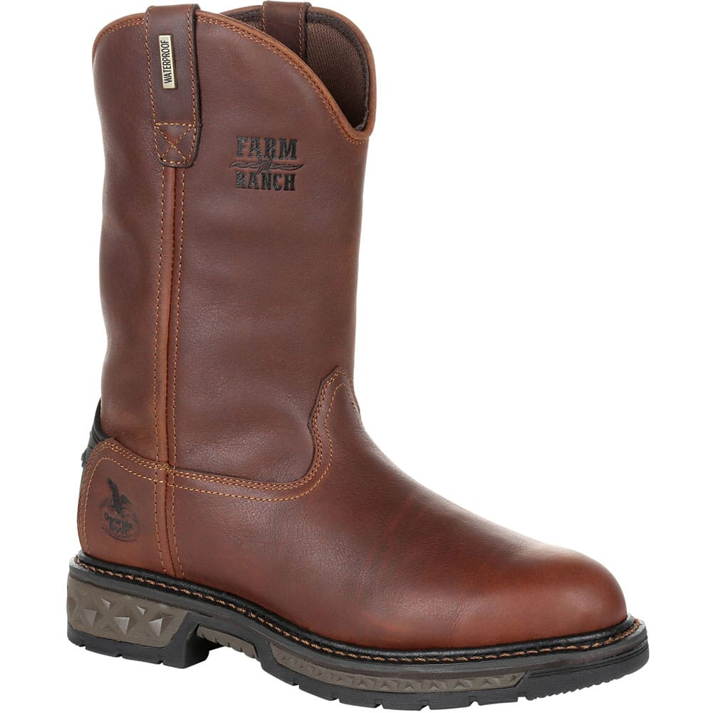 Image for Georgia Men's Carbo-Tec LT WP Work Boots - Brown from bootbay