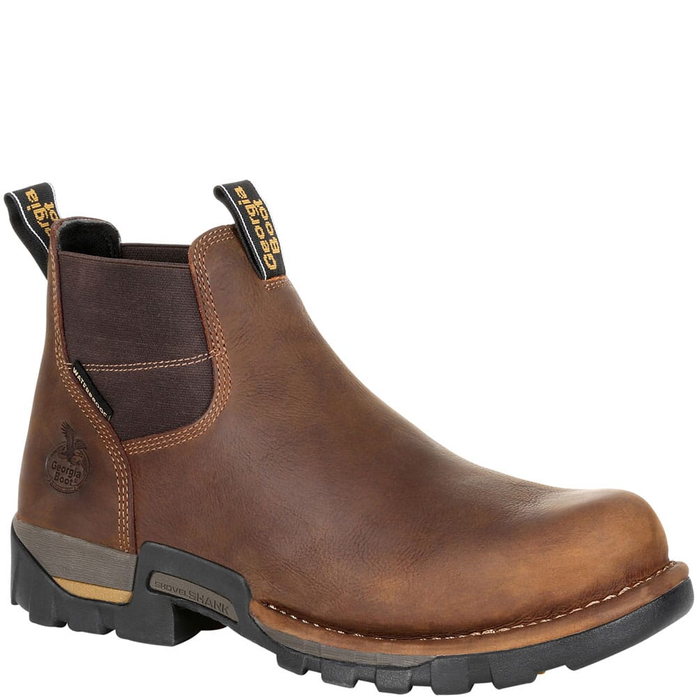 Image for Georgia Men's Eagle One WP Work Boots - Brown from bootbay