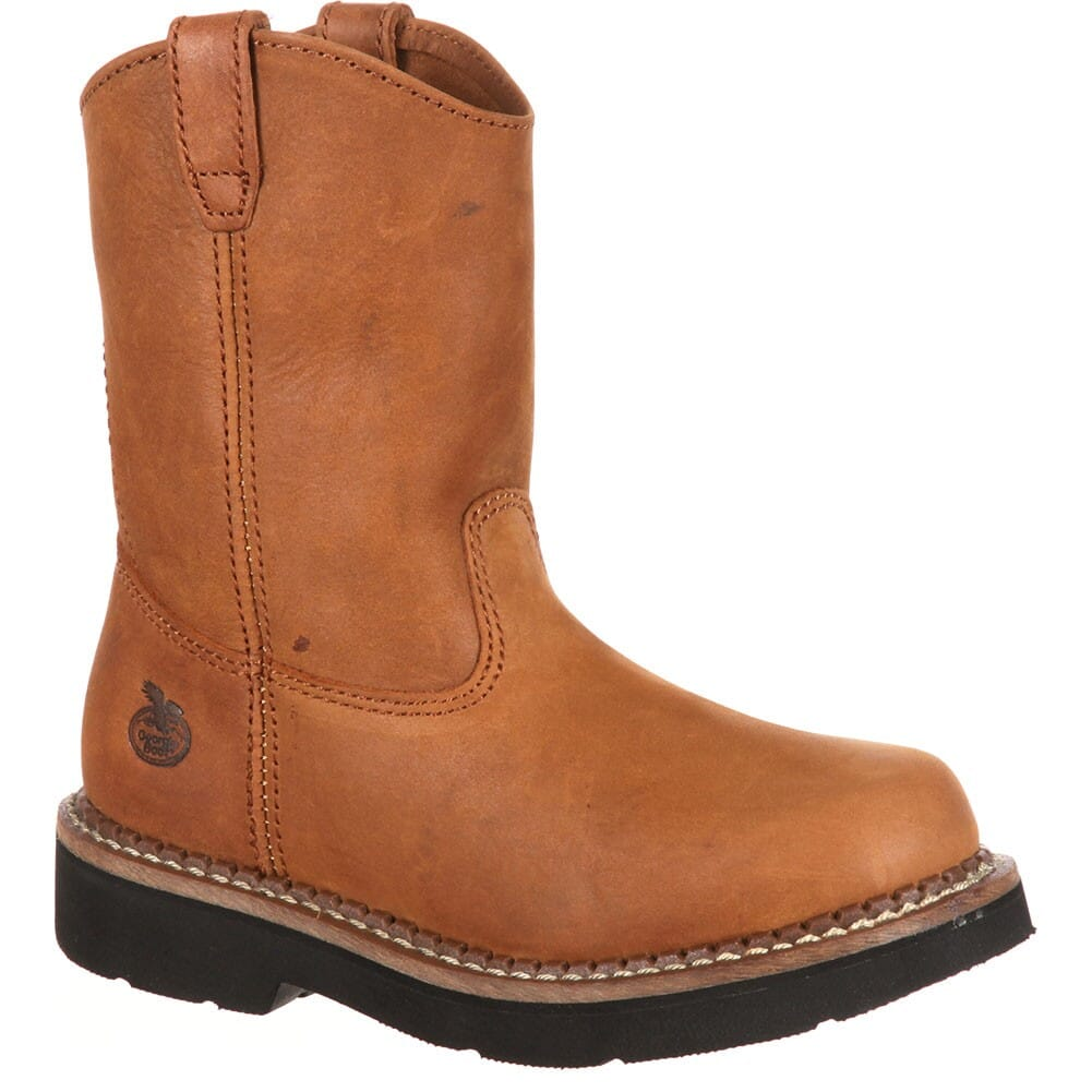 Image for Georgia Youth Wellington Boots - Brown from bootbay