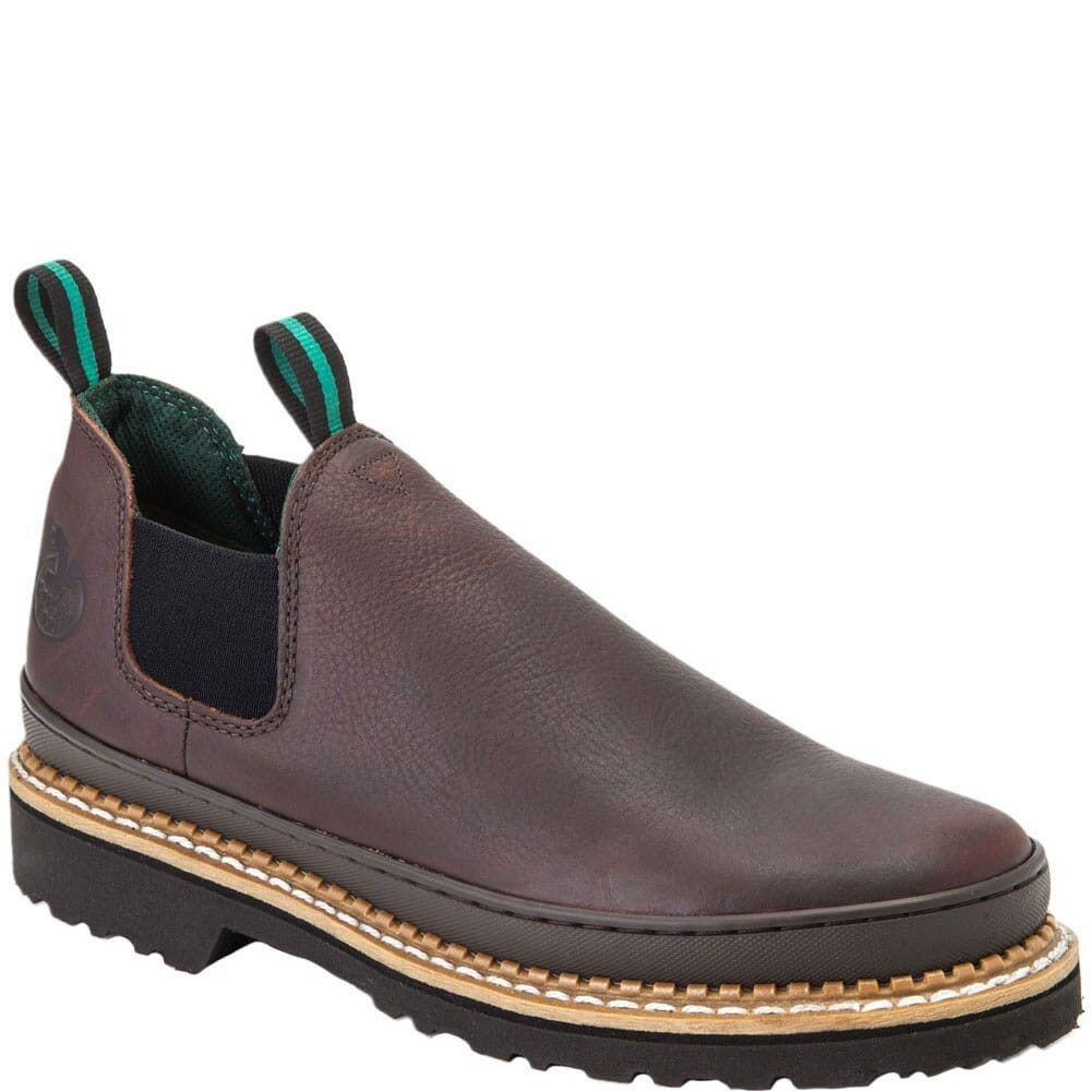 Image for Georgia Giant Women's Romeo Work Shoes - Brown from elliottsboots