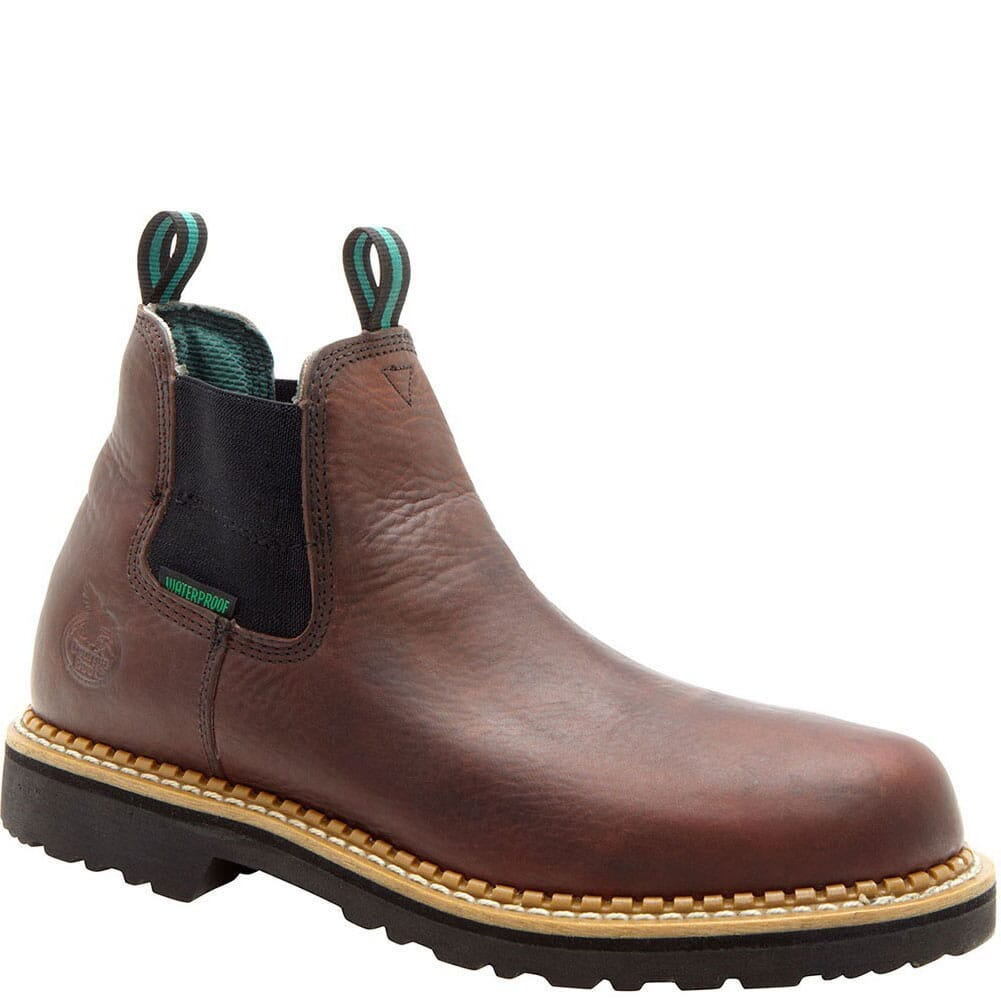 Image for Georgia Giant Men's Romeo Safety Boots - Brown from bootbay