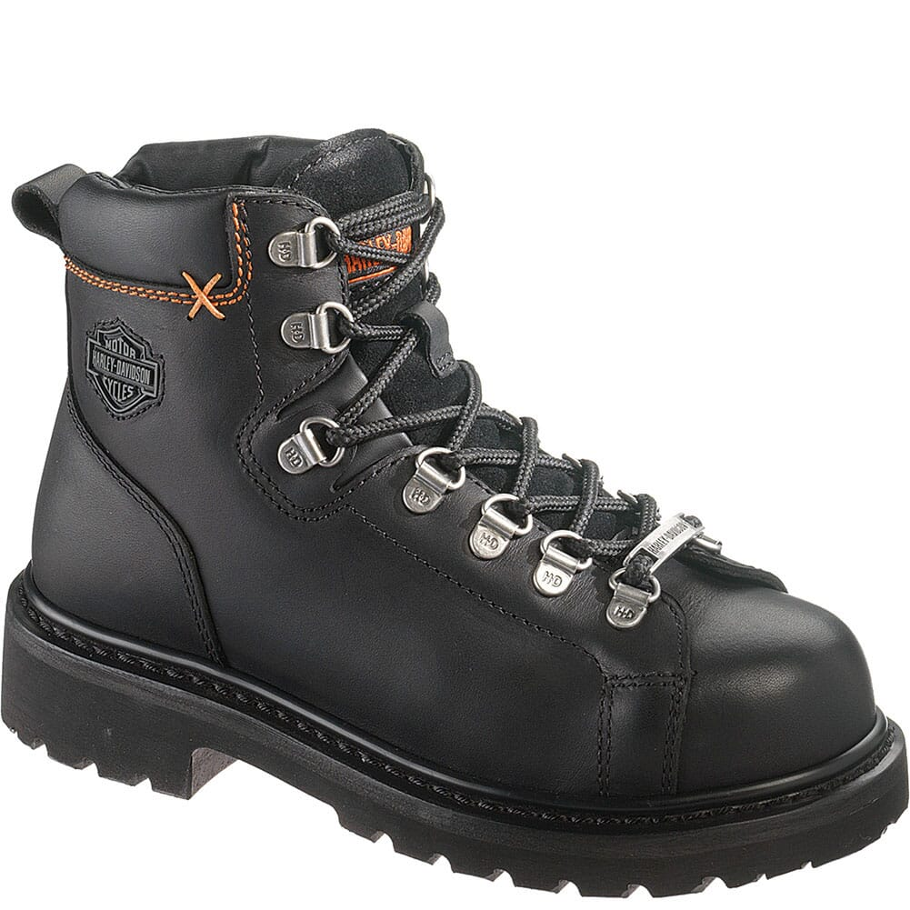 Image for Harley Davidson Women's Gabby Safety Boots - Black from elliottsboots