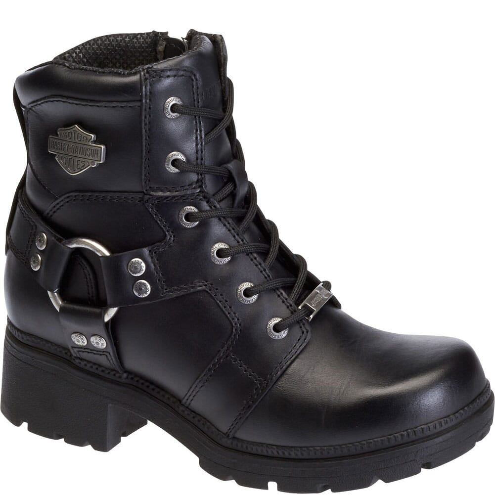 Image for Harley Davidson Women's Jocelyn Motorcycle Boots - Black from bootbay