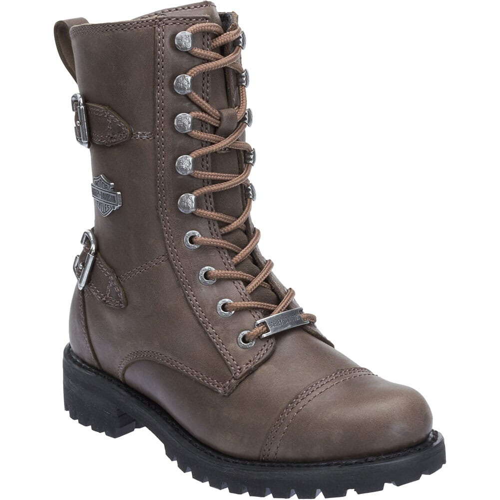 Image for Harley Davidson Women's Balsa Motorcycle Boots - Stone from bootbay