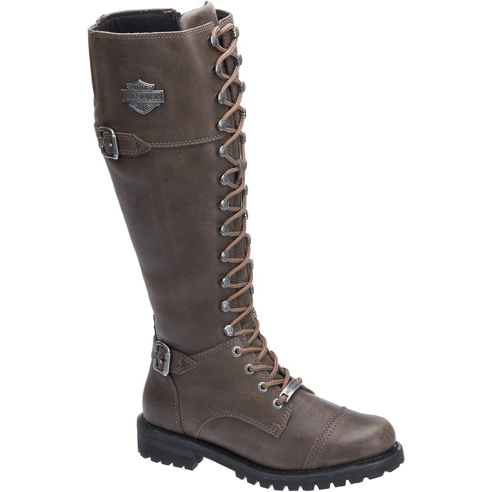 Image for Harley Davidson Women's Beechwood Motorcycle Boots - Stone from bootbay