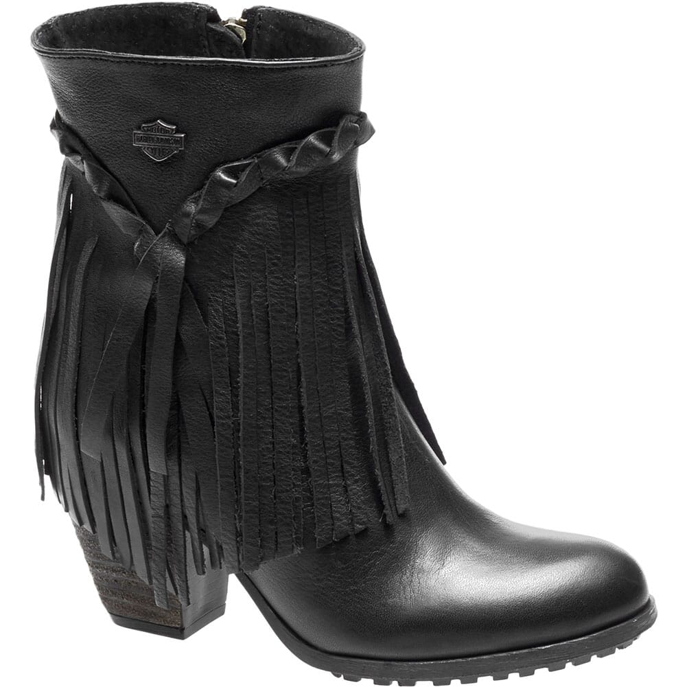 Image for Harley Davidson Women's Retta Motorcycle Boots - Black from bootbay