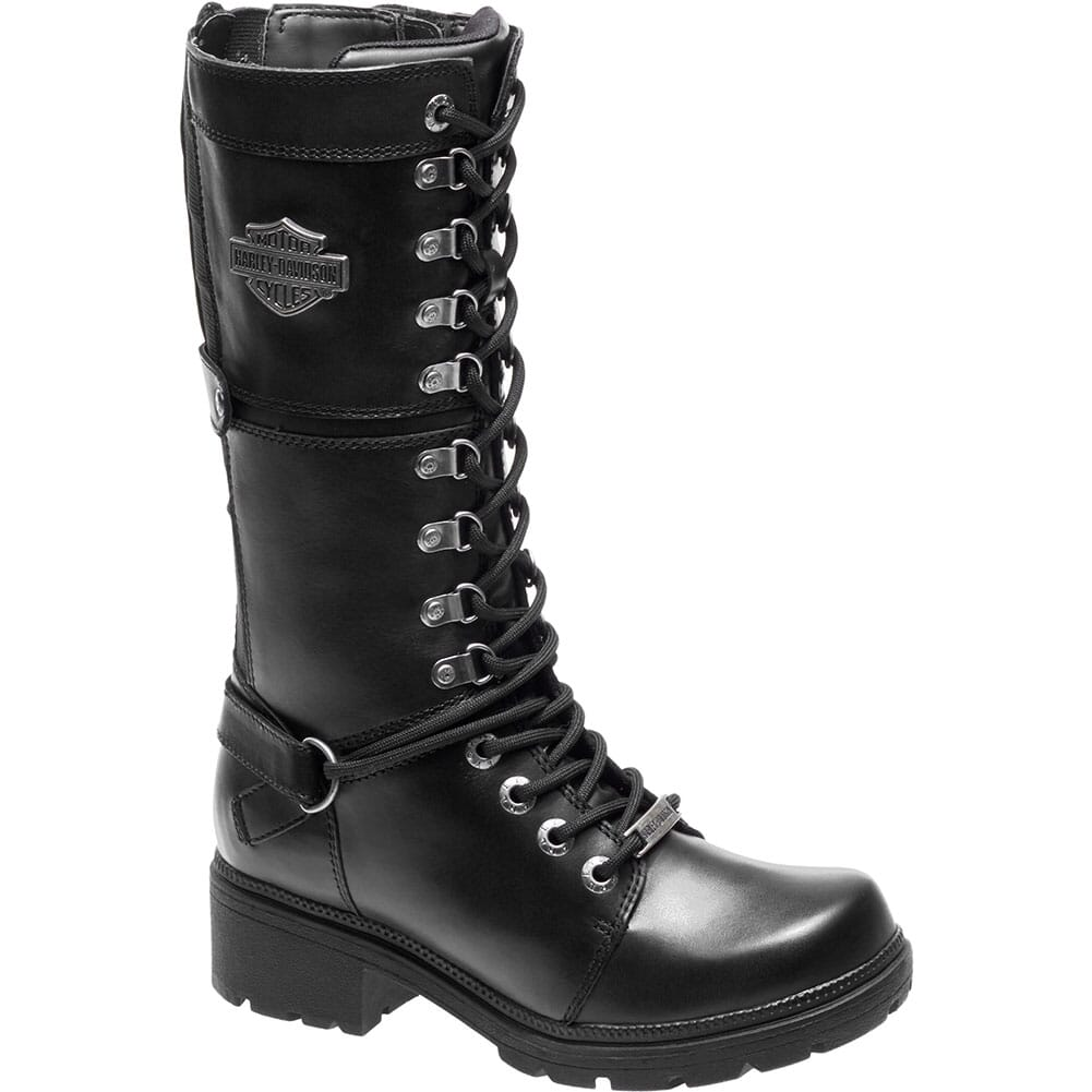 Image for Harley Davidson Women's Harland Motorcycle Boots - Black from bootbay