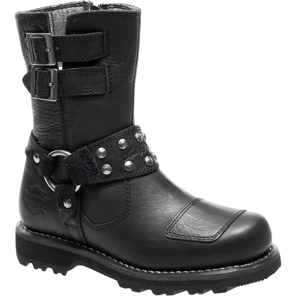 Image for Harley Davidson Women's Marmora Motorcycle Boots - Black from elliottsboots