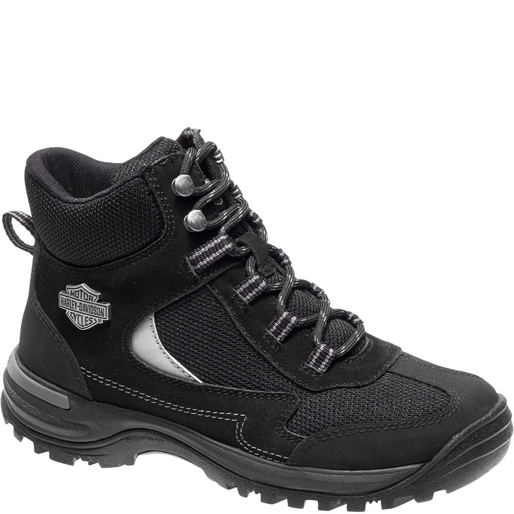 Image for Harley Davidson Women's Waites Safety Boots - Black from elliottsboots