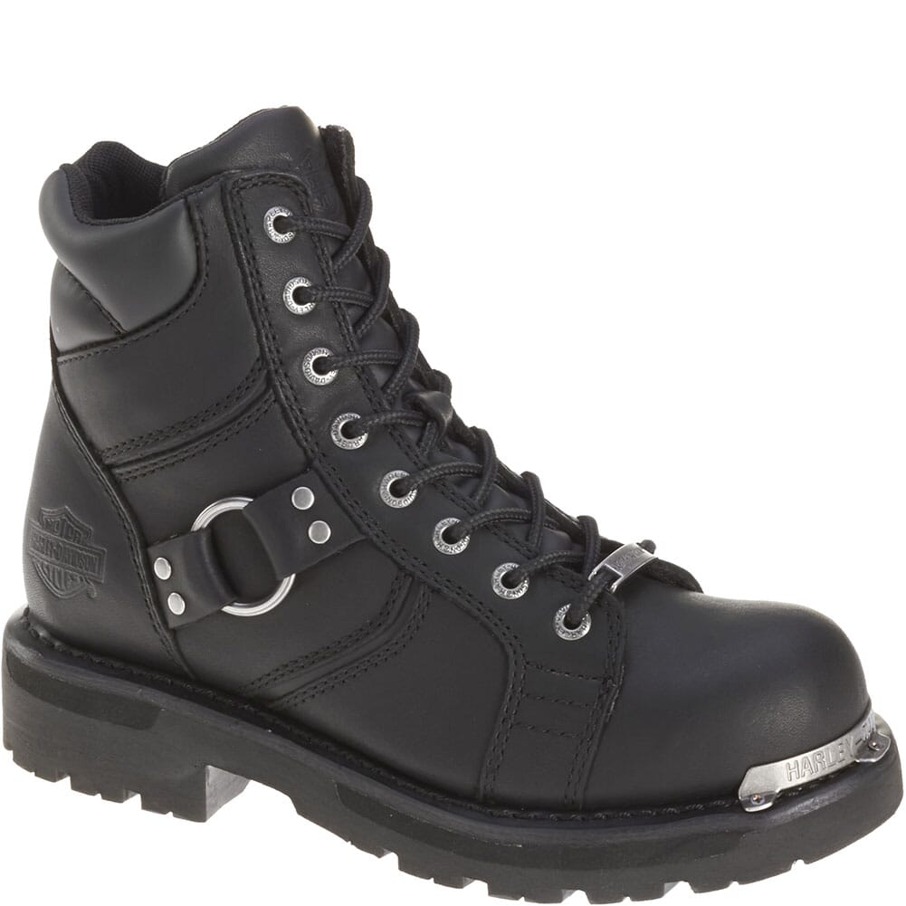 Image for Harley Davidson Women's Maddy Motorcycle Boots - Black from elliottsboots