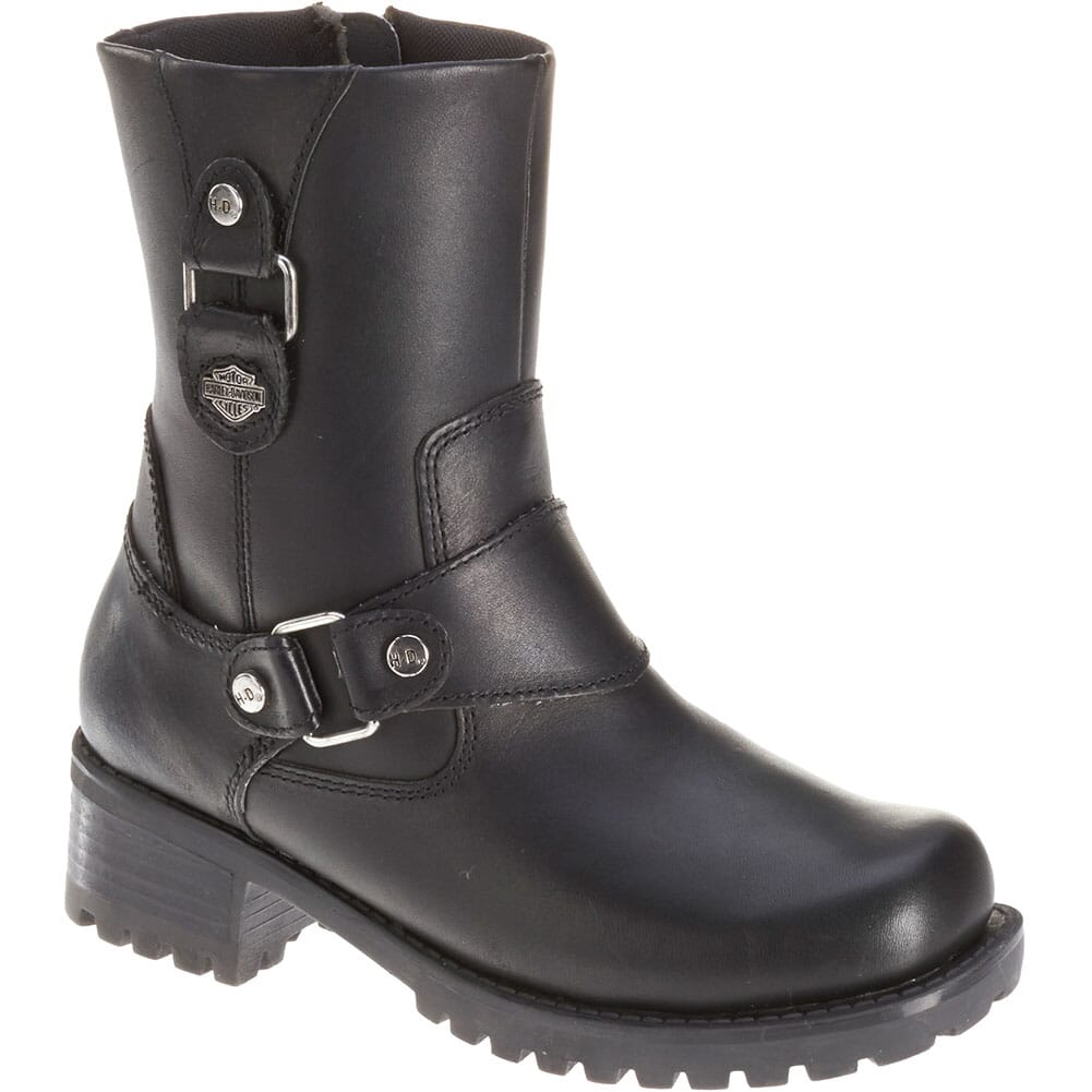 Image for Harley Davidson Women's Alivia Motorcycle Boots - Black from elliottsboots
