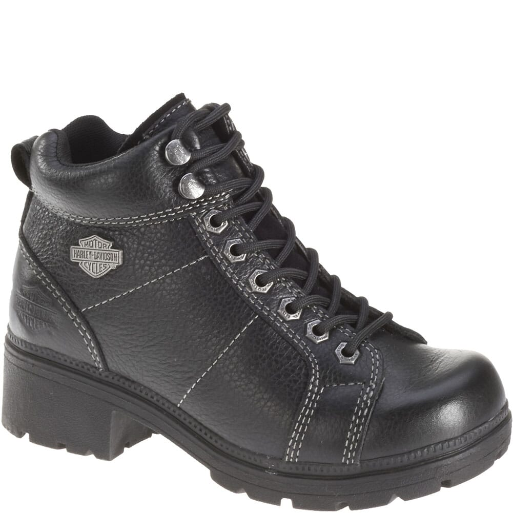 Image for Harley Davidson Women's Tyler Motorcycle Boots - Black from elliottsboots
