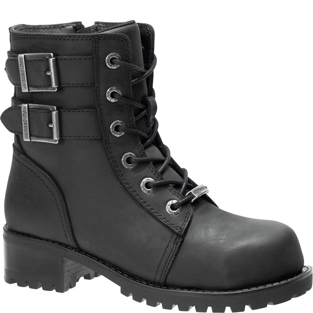 Image for Harley Davidson Women's Archer Safety Boots - Black from bootbay