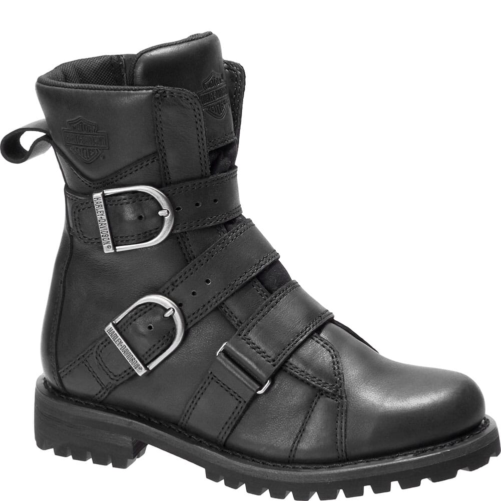 Image for Harley Davidson Women's Hemford Motorcycle Boots - Black from bootbay
