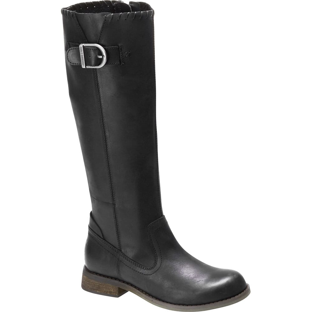 Image for Harley Davidson Women's Keyser Zip Motorcycle Boots - Black from elliottsboots