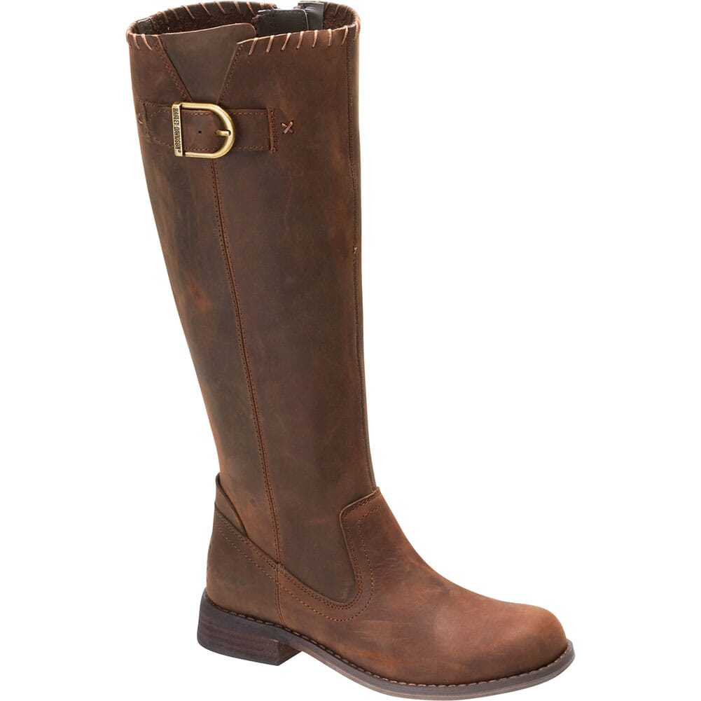Image for Harley Davidson Women's Keyser Motorcycle Boots - Chocolate from elliottsboots
