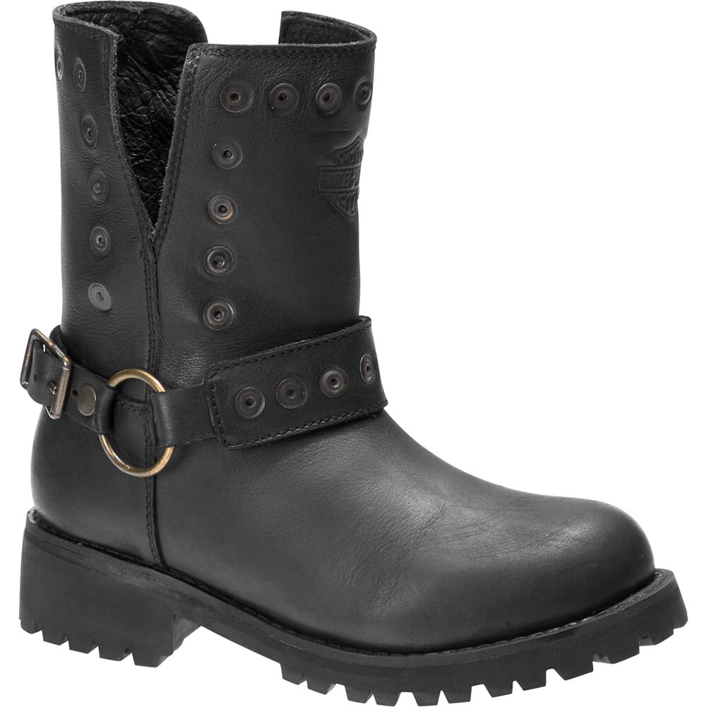 Image for Harley Davidson Women's Kendrick Motorcycle Boots - Black from elliottsboots