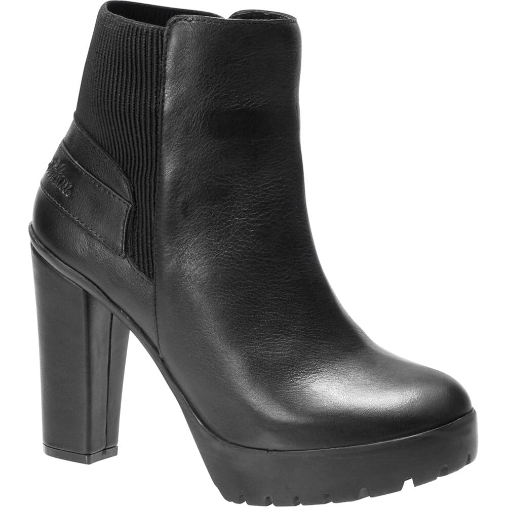 Image for Harley Davidson Women's Iredell Motorcycle Boots - Black from elliottsboots