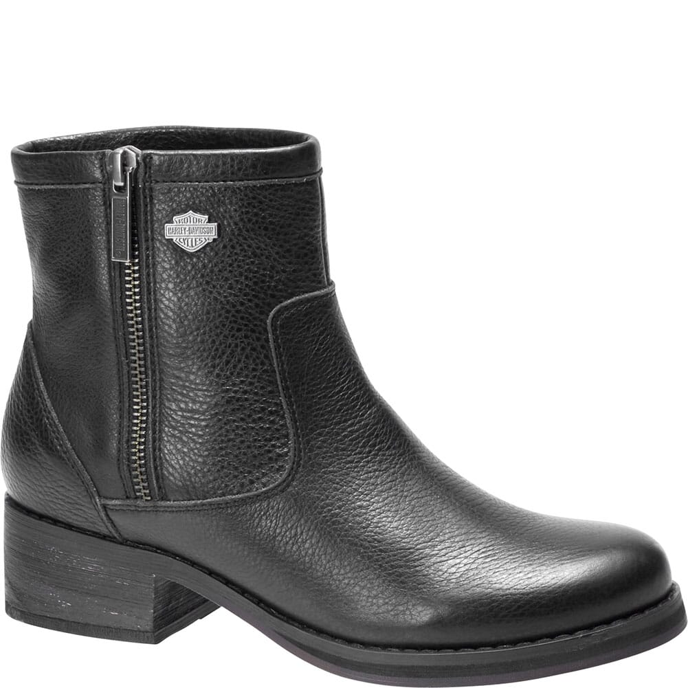 Image for Harley Davidson Women's Hennessey Motorcycle Boots - Black from bootbay