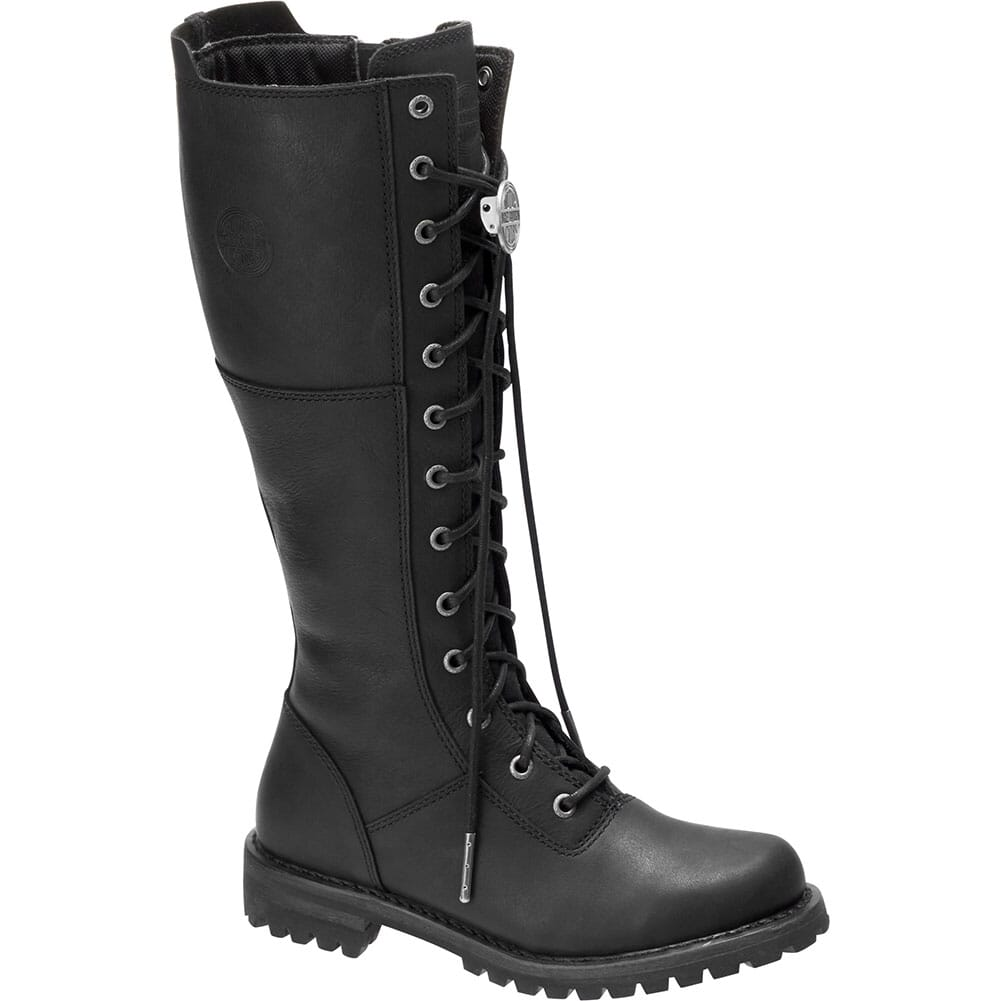 Image for Harley Davidson Women's Walfield Motorcycle Boots - Black from bootbay
