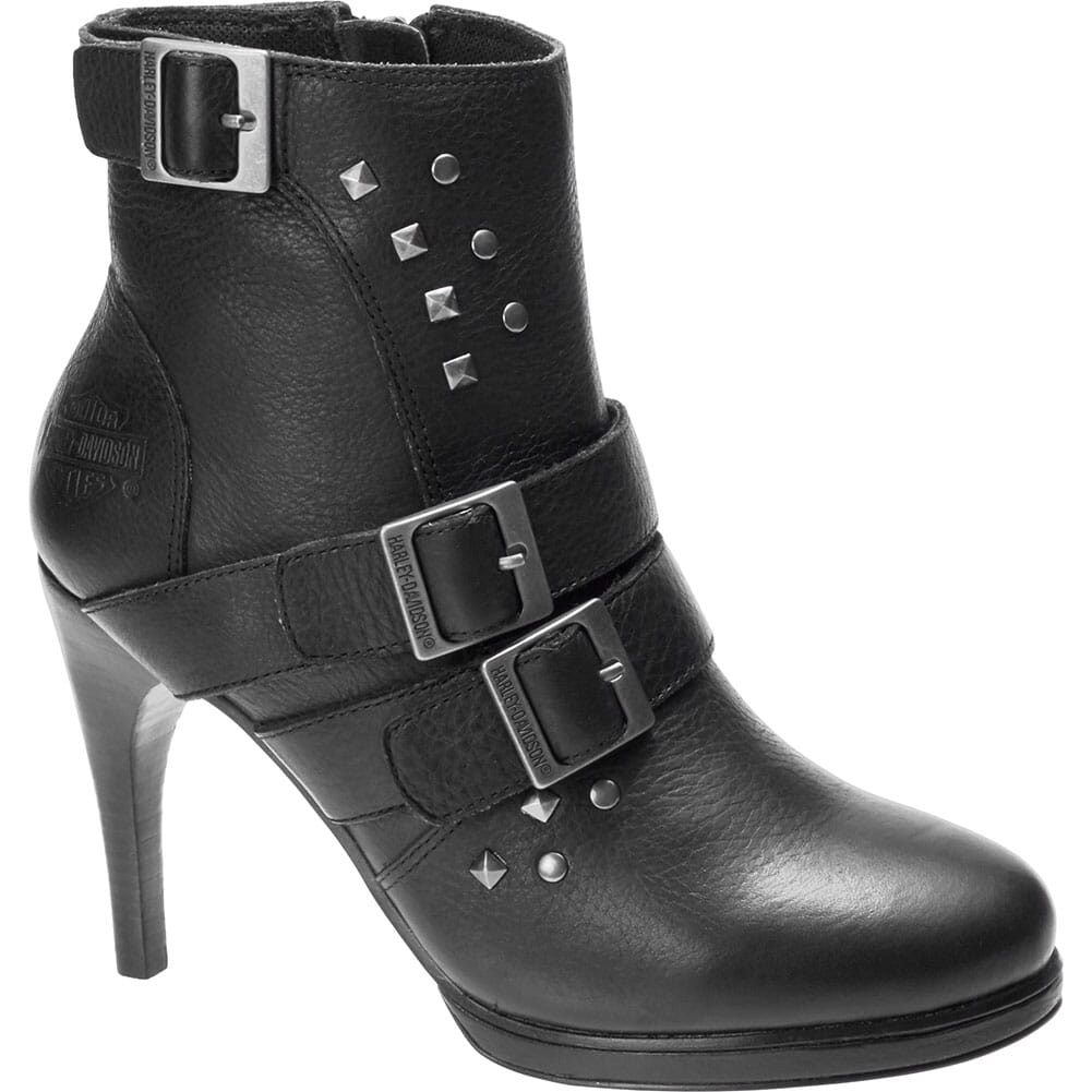 Image for Harley Davidson Women's Covert Motorcycle Boots - Black from bootbay
