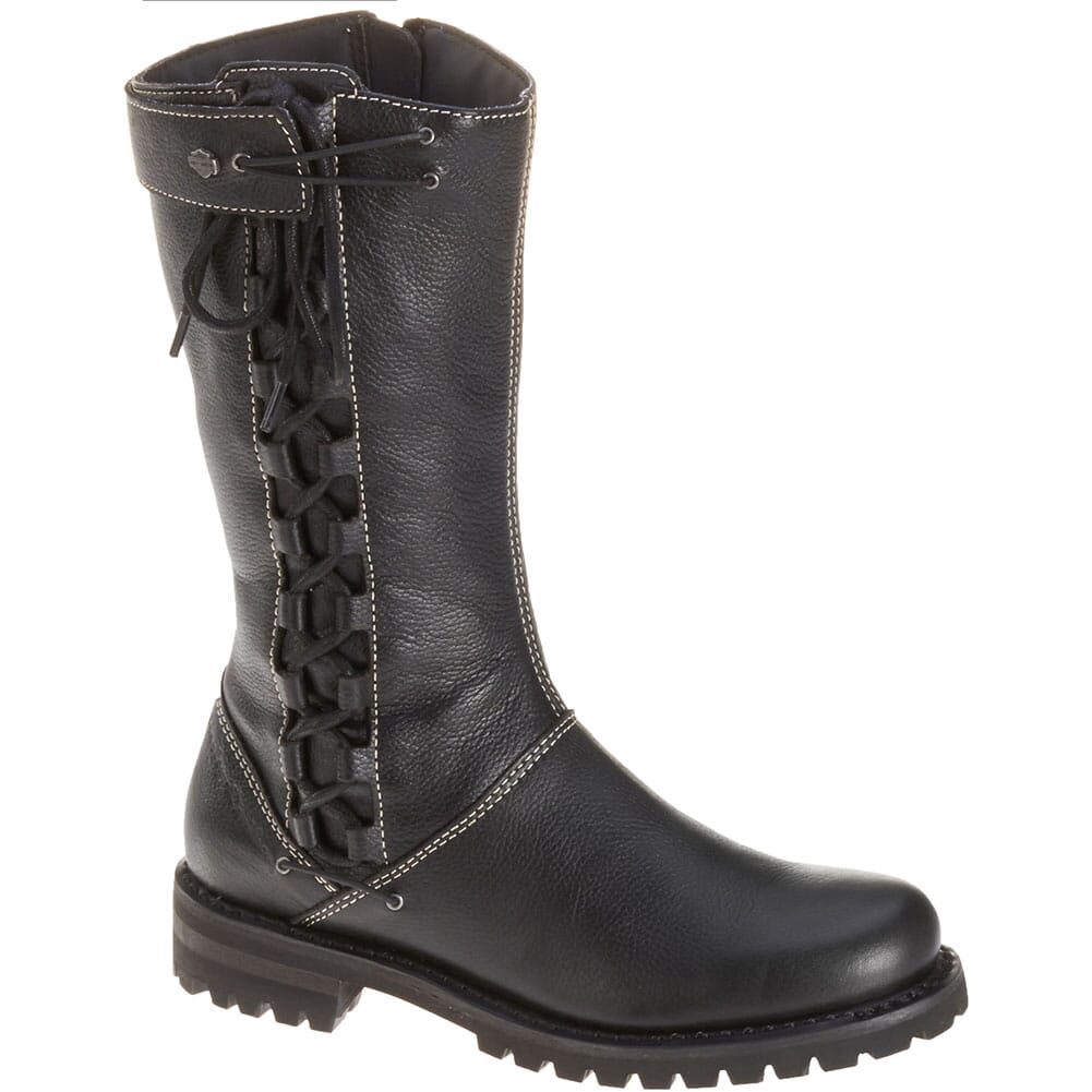 Image for Harley Davidson Women's Melia Motorcycle Boots - Black from elliottsboots