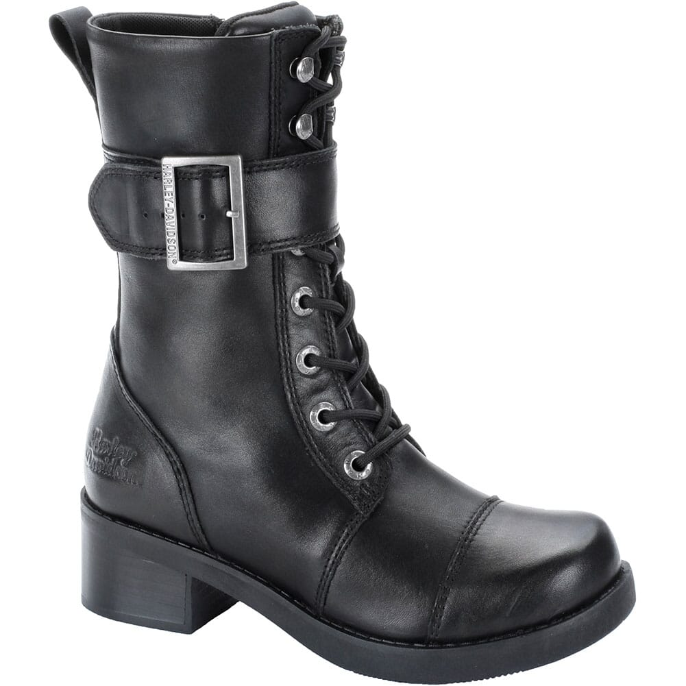 Image for Harley Davidson Women's Jammie Motorcycle Boots - Black from elliottsboots