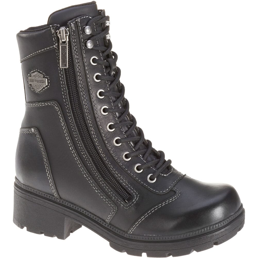 Image for Harley Davidson Women's Tessa Motorcycle Boots - Black from bootbay