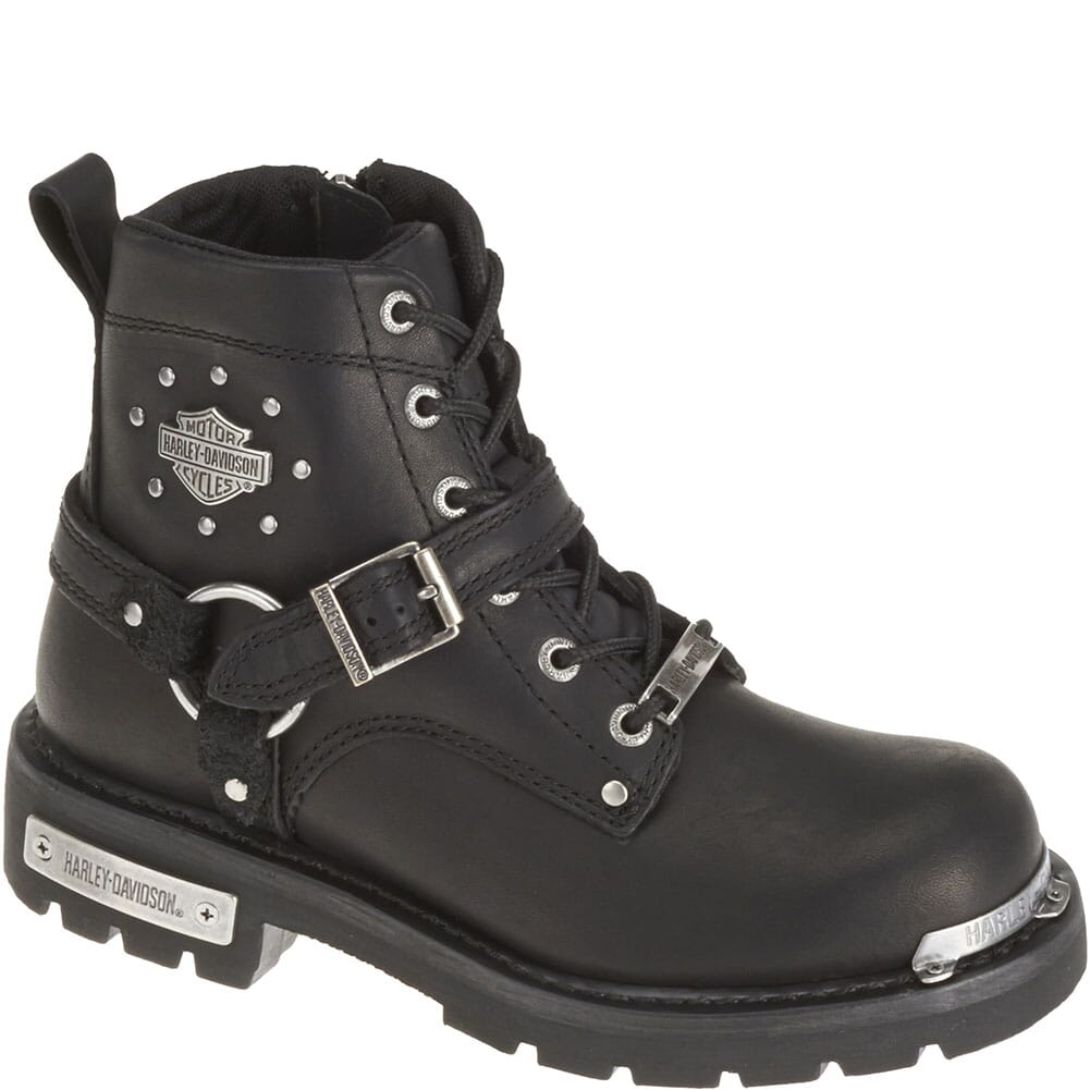 Image for Harley Davidson Women's Becky Motorcycle Boots - Black from bootbay