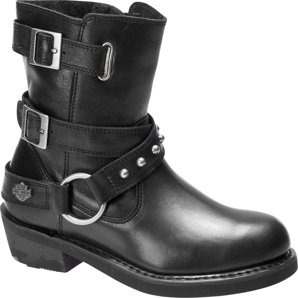 Image for Harley Davidson Women's Janice Motorcycle Boots - Black from elliottsboots