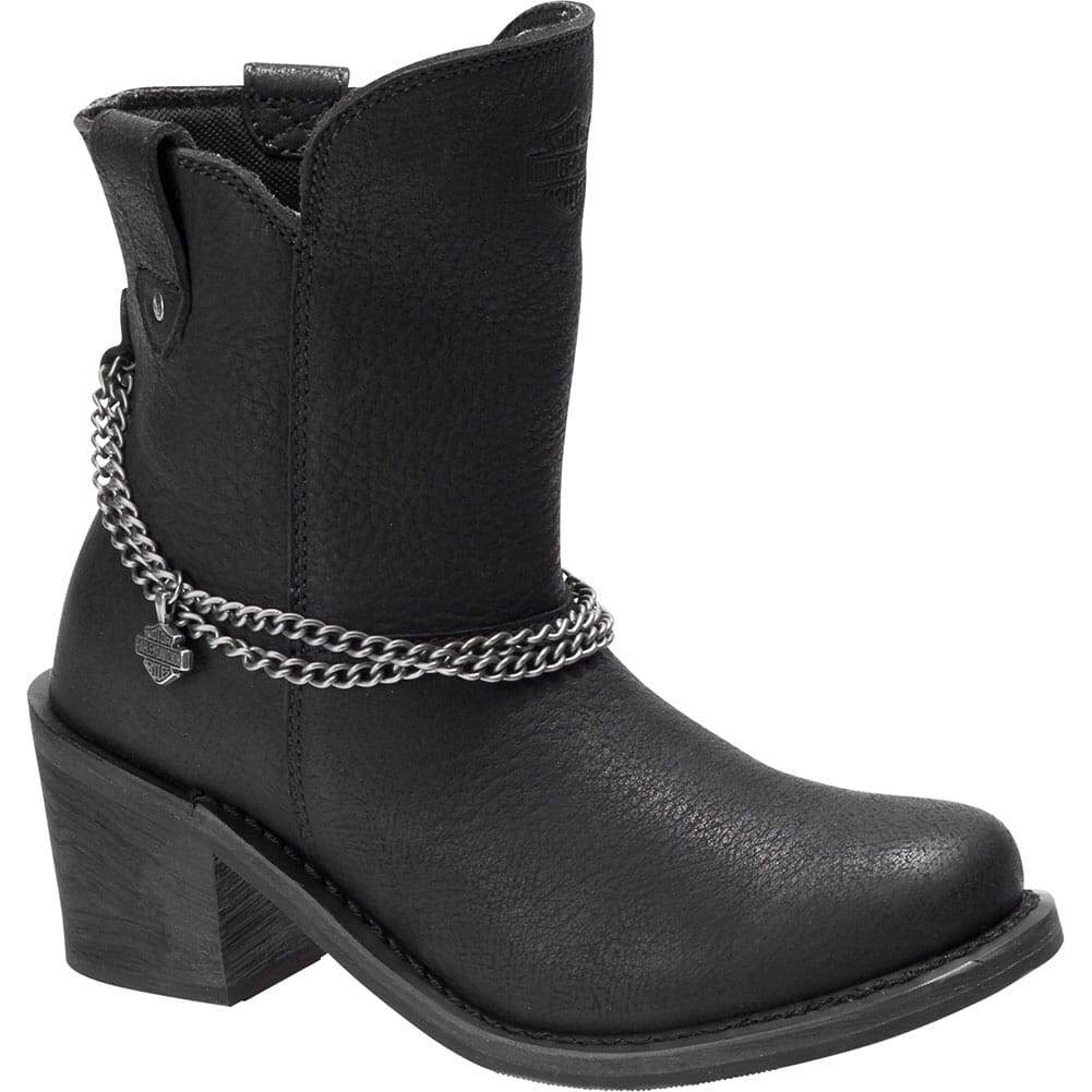 Image for Harley Davidson Women's Vanette Motorcycle Boots - Black from bootbay