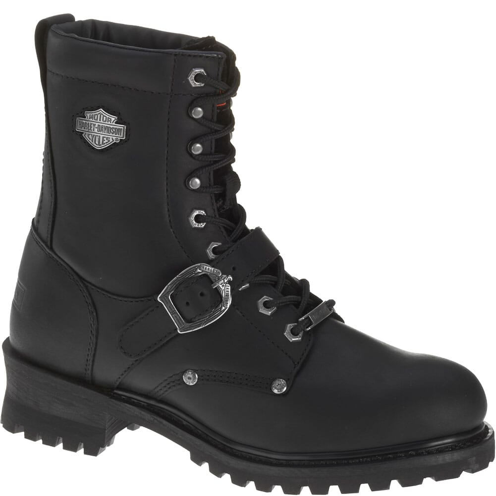 Image for Harley Davidson Men's Faded Glory Motorcycle Boots - Black from bootbay