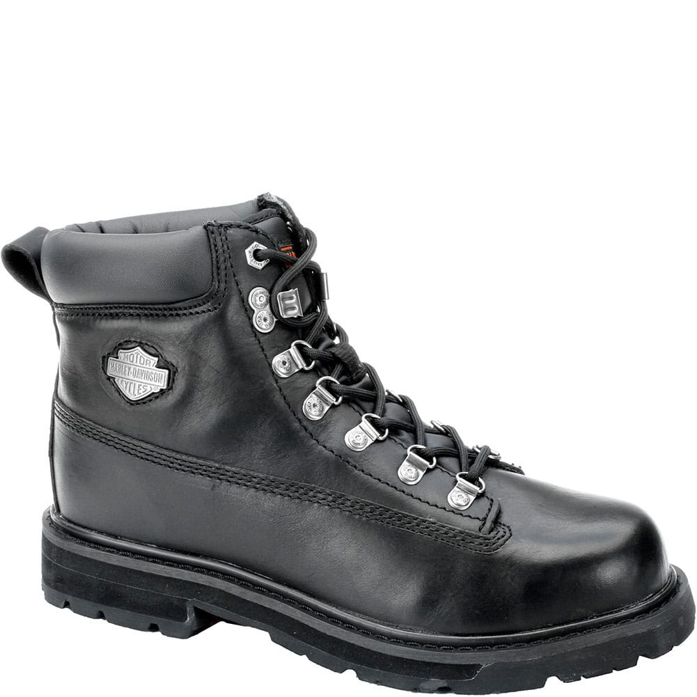 Image for Harley Davidson Men's Drive 6IN Safety Boots - Black from bootbay