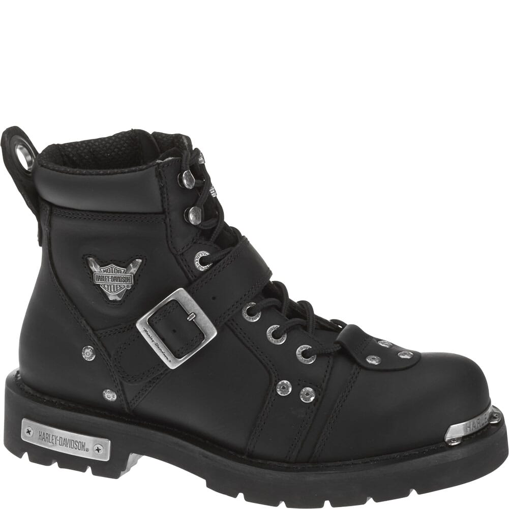 Image for Harley Davidson Men's Brake Buckle Motorcycle Boots - Black from bootbay